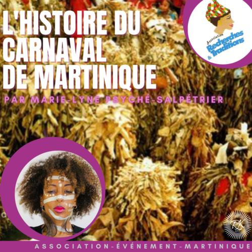 LE CARNAVAL DE MARTINIQUE PAR MARIE-LYNE PSYCHÉ-SALPETRIER