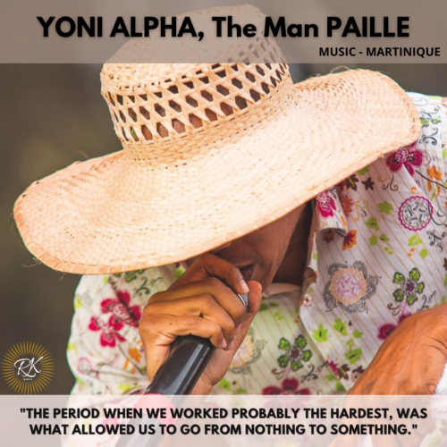 """YONI ALPHA, The man """"PAILLE"""""""