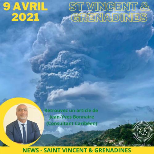 9 de abril de 2021 – Erupción en San Vicente…