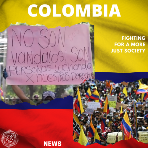Colombia, fighting for a more just society