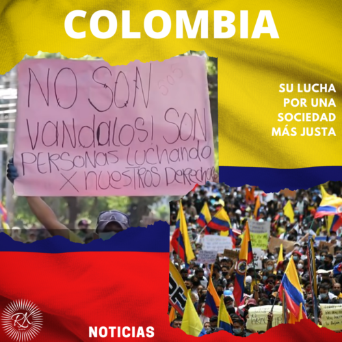 Colombia, su lucha por una sociedad más justa