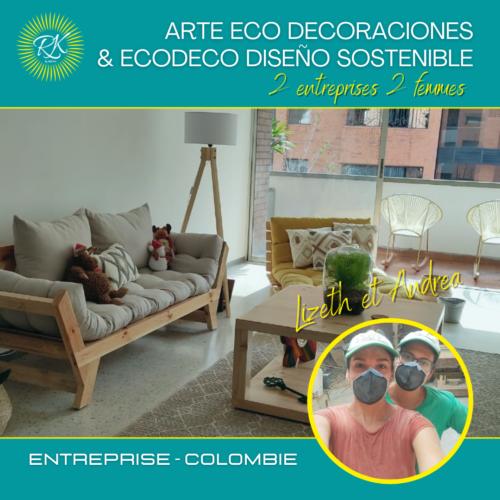 ARTE ECO DECORACIONES & ECODECO DISEÑO SOSTENIBLE